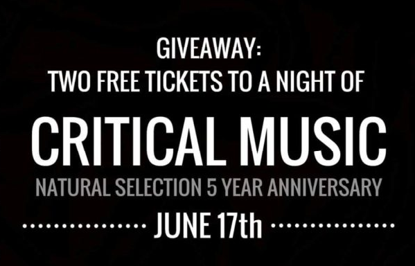 Win 2 tickets to a night of Critical Music at Club Slake in  NYC