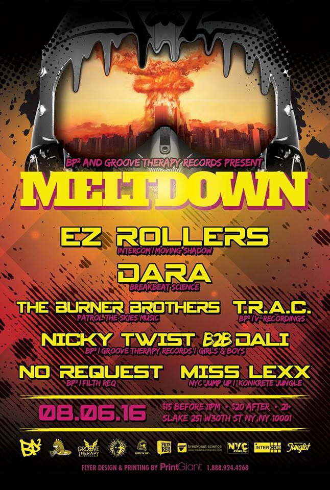 """Win 2 tickets to """"Meltdown"""" featuring EZ Rollers, Dara, The Burner Brothers and More!"""