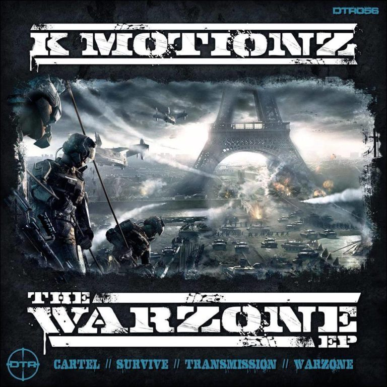 K Motionz – The Warzone EP – Digital Terror Records
