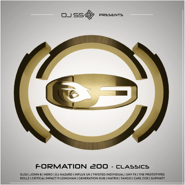 DJ SS presents: Formation 200 – 3 part LP – Formation Records.