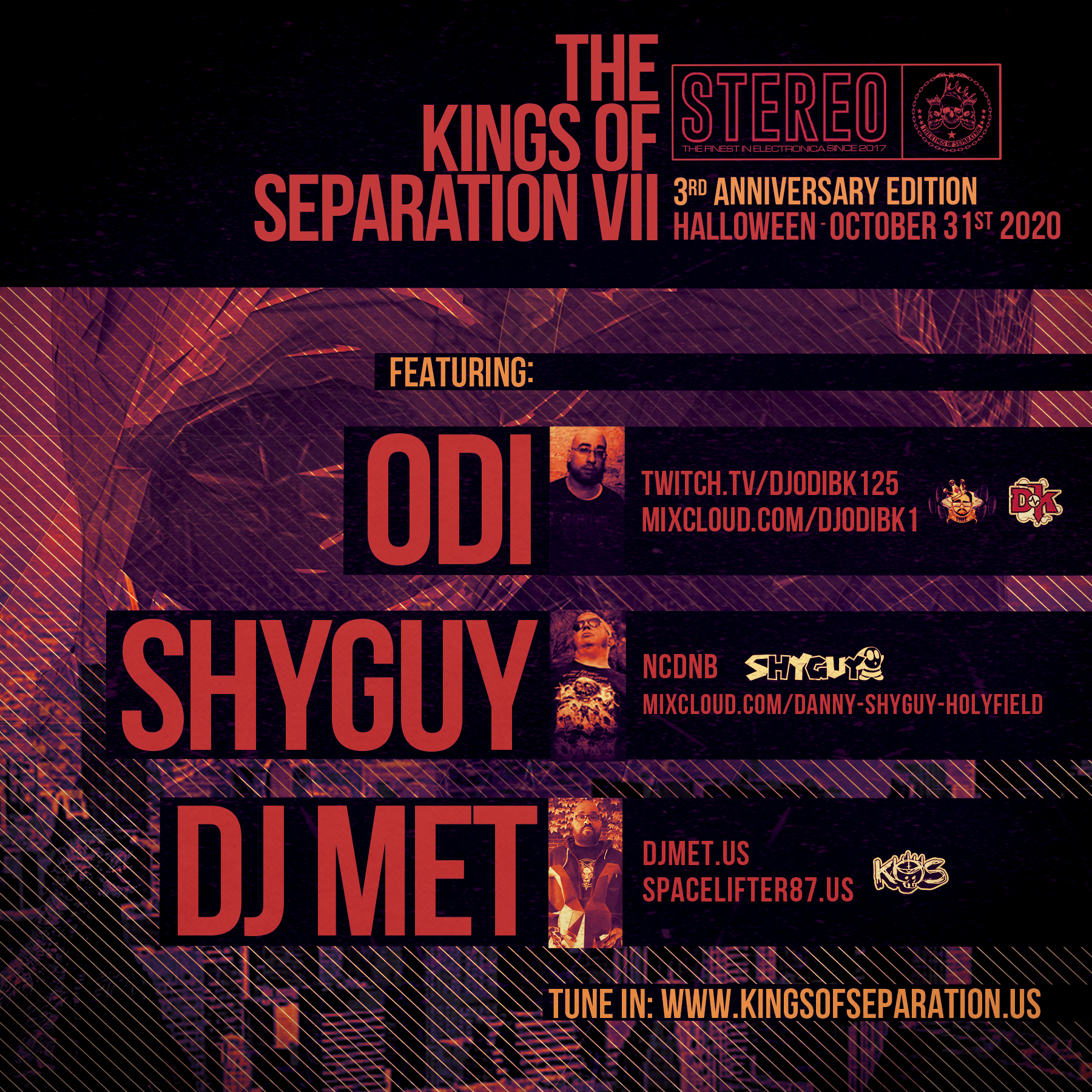 Kings of Separation 3-Year Anniversary