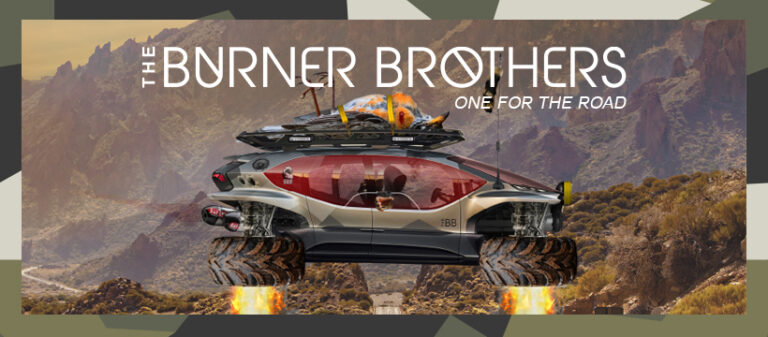 The Burner Brothers – One For The Road LP – Patrol The Skies Music.